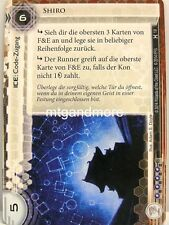 Android Netrunner LCG - 1x Shiro DT. #019 - onore e Profitto