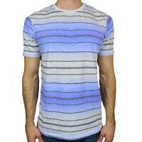 TOMMY BAHAMA Men's T-shirt - Island Modern Fit - Stripes - Light-Weight Fabric