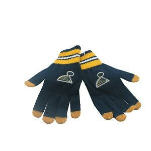 St. Louis Blues NHL Reebok Youth Boys (8-20) OSFM Winter Gloves Mitts New Tags