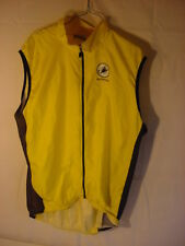 SQUADRA CYCLING SAFETY VEST - Yellow Mens Size XXL