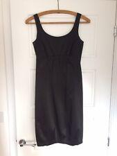 Zara Black Cocktail Dress Size 6 Petite