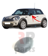 FOR MINI COOPER ONE CLUBMAN 07-15 WING MIRROR COVER CAP FOR PAINTING LEFT N/S