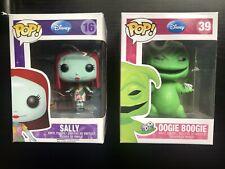 Oogie Boogie And Sally Nightmare Before Christmas Disney Funko Pop Bundle