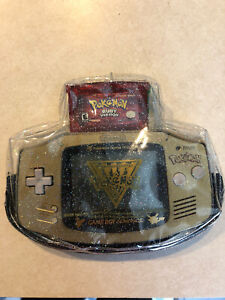 Pokemon Center New York Pouch 2000s See-thru AGB-001 for GBA, Gameboy advanced