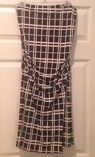 Cheroy Black & White Sleeve Less Dress - Size L