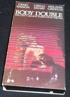 BODY DOUBLE - VHS - 1989 RATED R