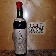 WS 98 pts! Legendary 1959 Chateau Latour Pauillac Bordeaux wine RECORKED