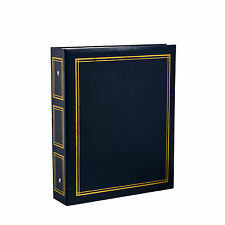 Deluxe Large Self Adhesive Ring Binder Photo Album 40 Sheets/80 Sides -Blue CL12