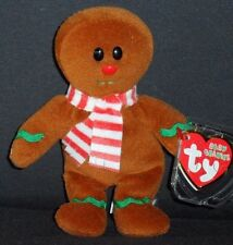 TY YUMMY the GINGERBREAD MAN JINGLE BEANIE BABY - MINT TAGS