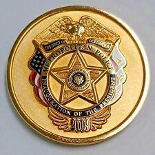 DC Metropolitan Police Inauguration 2009  Challenge Coin