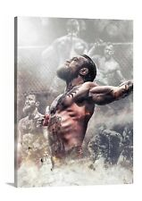 Conor McGregor Ufc 246 Canvas 30x40 Wall Art Painting Mancave Mma Boxing Fight