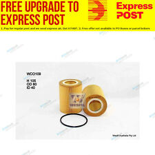 Wesfil Oil Filter WCO109 fits Volvo S80 3.2 AWD,T6 AWD