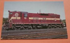 Duluth Missabe & Iron Range #160 Proctor MN  in 1975 Train Railway Postcard