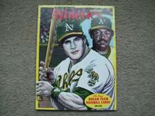 1992 OAKLAND ATHLETICS Magazine w/DREAM TEAM CARDS Canseco Catfish Hunter REGGIE