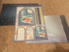 Hunkdory Kit - Bedtime Bear - Die Cut Topper Sheet & 2 Backing Cards