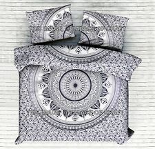Indian Ombre Mandala Bedding Comforter Cover King Doona Duvet Cover Blanket Set