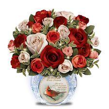 Remembrance Floral Centerpiece iCrystal Vase  Joe Hautman Art: Lights Up