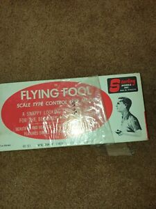 Vintage Sterling Models The Flying Fool Balsa Airplane still in wrap