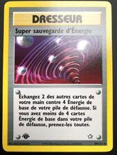 Carte Pokemon SUPER SAUVEGARDE D'ENERGIE 89/111 Rare EDITION 1 FR NEUF