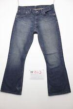 Levi's 516 Bootcut  usato (Cod.H943) Tg.48 W34 L36 vintage jeans accorciato