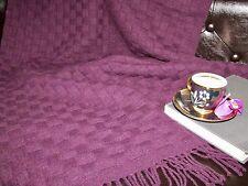 Cover, Plaid, Sofa Blanket 135x180 cm Wool Blend