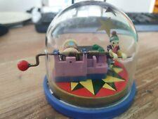 Vintage Sankyo Spieluhr Pierrot de Pierre mit Clown - Blue Danube