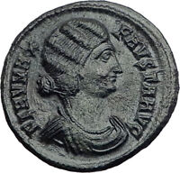 FAUSTA Constantine the Great Wife 324AD Authentic Ancient Roman Coin i64855