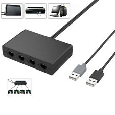 4Port USB For GameCube NGC Controller Adapter For Nintendo Switch/Wii U/PC 3in1