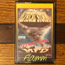 LYRICAL STORM ATTACK MODE-RARE-OOP-OAKLAND RAP-1994-TAPE ONLY RELEASE