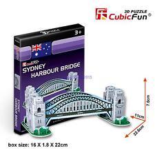 CubicFun 3D Paper Puzzle Model S3002H Sydney Harbour Bridge Building Toy 33pcs