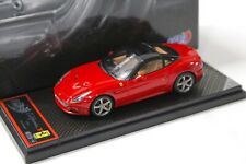 1:43 BBR Ferrari California T 2014 roof closed red NEW bei PREMIUM-MODELCARS