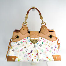 Louis Vuitton Monogram Multicolore Ursula M40123 Women's Handbag Blanc BF507659