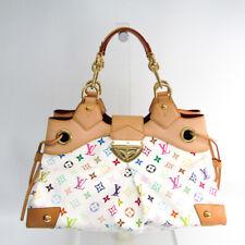 Louis Vuitton Monogram Multicolore Ursula M40123 Women's Handbag Blanc BF507659