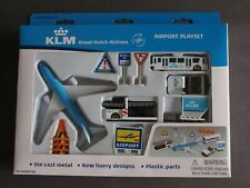KLM Boeing 787 Airport Playset Made By Premier Portfolio - New & Sealed
