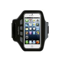 BELKIN ARMBAND FOR IPHONE SE 5 5C 5S IPOD TOUCH 5 6 EASEFIT BLK NEW F8W105QEC00