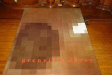 GRENVILLE DAVEY-MUSEE DEPARTEMENTAL  DE ROCHECHOUART CATALOGUE