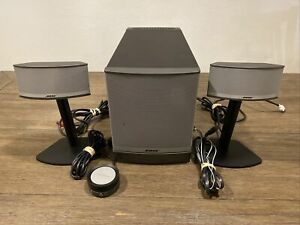 Bose Companion 5 Multimedia Speaker System Fully tested Fast free shipping