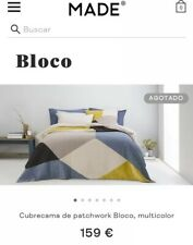 Made.com Cubrecama patchwork Bloco, multicolor 159 € Brand New With Tags