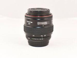 Tokina 28-70mm f3.5-4.5 AF Lens