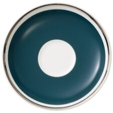 Villeroy & and Boch ANMUT Emerald Green saucer for espresso cup 12cm NEW NWL