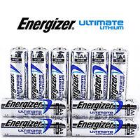 SHRINK PACK 10 x ENERGIZER AA ULTIMATE LITHIUM BATTERIES MN1500 LR6 L91 NEW 1.5v