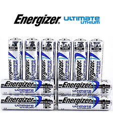 10 x ENERGIZER AA ULTIMATE LITHIUM BATTERIES MN1500 LR6 L91 NEW 1.5v LONG EXPIRY
