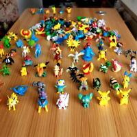 Random 2-3cm 24pcs/set Pikachu Pokemon Go Mini Action Figure Toy Pocket Monster