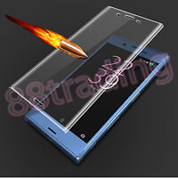 CLEAR CURVED FIT TEMPERED GLASS SCREEN PROTECTOR PROTECTION FOR SONY XPERIA XZ