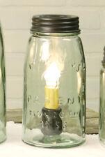 Farmhouse Quart Mason Jar Lamp