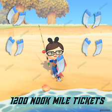 1200 Nook Miles Tickets ✈️ NMT