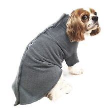 More details for ancol dog drying coat simply dry deep soft cosy comfort microfibre noodle s m l