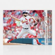 2018 Topps NOW MLB 492 Daniel Poncedeleon No-Hit Through 7 Innings MLB Debut