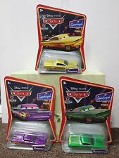3-SET RAMONE Purple Yellow Green Chevy Impala Disney Pixar Cars Supercharged NEW