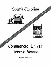 COMMERCIAL DRIVER MANUAL FOR CDL TRAINING (SOUTH CAROLINA) ON CD IN PDF PROGRAM.